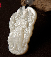 ZCD 2017 619+++Luodian marichi Tianfo Mother Buddha bone Tibetan Buddhist Tantric WenWan pendant necklace patron(China)