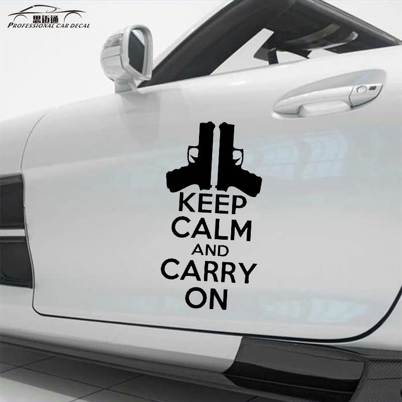 "Lapto 8/"" Keep Calm and Carry On  Vinyl Decal /""Sticker/"" For Car or Truck Windows"