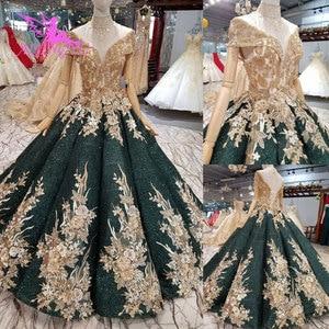 Image 2 - AIJINGYU Wedding Dresses Dubai Sleeve Gowns Bolero Luxury Ivory Long Boho Lace For Sale Sexy Gown engagement Wedding Decorations