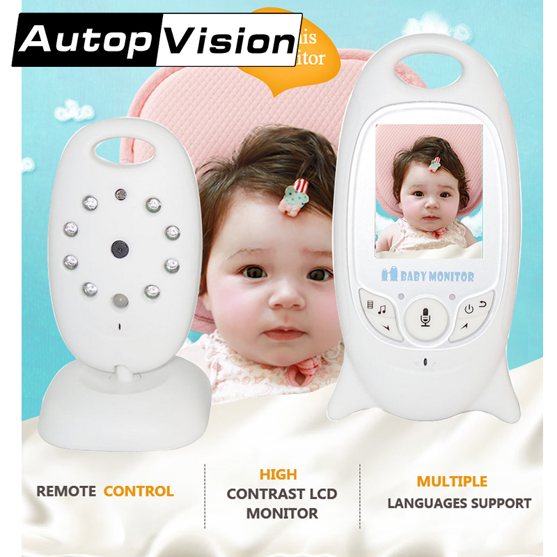 VB601 Wireless Video Baby Monitor with Camera Night Vision Lullaby Radio Nanny Baby nice Monitor on line buy free shipping wireless baby monitor vb601 with camera for the night vision bebek telsiz telsizleri babyfoon met babyphone video detector