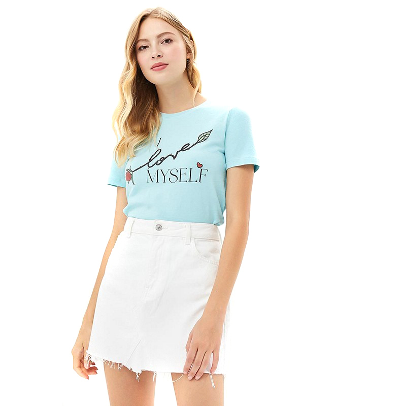 T-Shirts MODIS M182W00130 shirt cotton for for female for woman TmallFS bracelets modis m181a00647 for female woman jewelry women decoration beads charms tmallfs