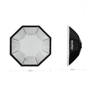 """Image 3 - Godox softbox 95cm 37 """"Octagon Honeycomb Grid Softbox miękkie pudełko z mocowaniem Bowens na błyskanie studyjne"""