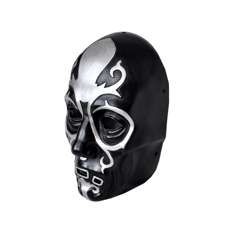 Harry Porter de Malfoy Lucius of high-grade resin mask glass steel grade resin M076 1 party masks freeshipping