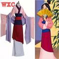 Hua mulan dress princesa roupas adulto cosplay fantays carnaval mulheres party dress custom made halloween filme filme wxc
