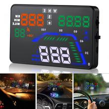 Universal Q7 5.5 Inch Digital Auto Car HUD GPS Head Up Display Speedometers Overspeed Warning Dashboard Windshield Projector