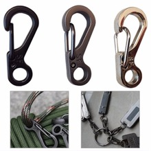 10 Pcs Camping Equipment Survival EDC Paracord Carabiner Snap Spring Clip Outdoor Hiking Hook Backpack Tactical Buckle Camp Kit