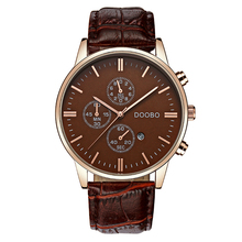 Watch Men Fashion Quartz-watche top brand luxury Casual Military Sport Wristwatch Leather Strap Male Clock men relogio masculino
