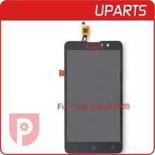 High quality For Acer Liquid Z520 Lcd Display With Touch Screen Digitizer Assembly Complete Black +Tracking No