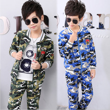 Boys Garments Spring Fall Youngsters Camouflage Clothes Set boy Lengthy Sleeve tracksuit set swimsuit four 6 eight 10 12 14 Years youngsters garments