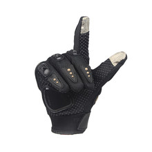 PRO-BIKER Motorcycle Full Finger Gloves Offroad Racing Motocross Dirt Bike Riding Ski Scooter Cross Protective Gloves MCS-01CT(China)