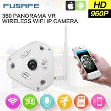 FUSAFE 360 Degree Panoramic Fisheye Camera 960P Wifi Wireless CCTV IP Camera Support Two Way Audio QP180