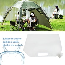 5L Foldable Emergency Liquid Storage Protable Folding Water Storage Bag Camping Collapsible Liquids Container Drop Shipping