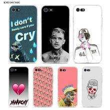 Transparent Soft Silicone Phone Case XxxTentacion Lil Peep for iPhone XS X XR Max 8 7 6 6S Plus 5 5S SE