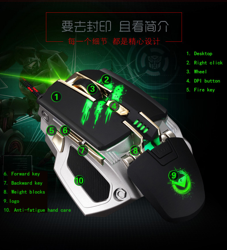 High Quality gaming mouse