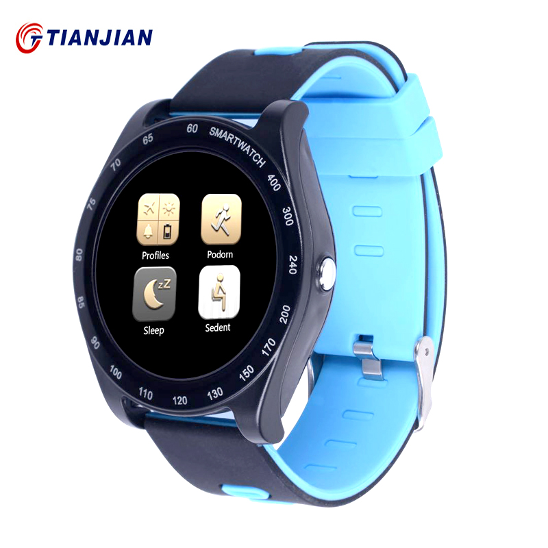 Smart Watch Z1 Bluetooth Smartwatch Passometer Camera Health Round Wearable Devices For Android IOS