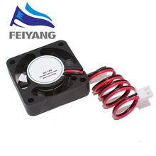 Ventilador de refrigeración para impresora 3d, sin escobillas, 40x40x10mm, 4010 ventiladores, 12v, CC, para disipador térmico