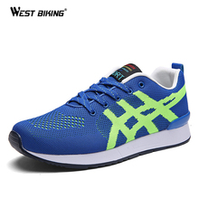 WEST BIKING Athletic Shoes Women's Shoes Sneakers For Men Breathable Sports Cycling Bicycle Sport Sneakers
