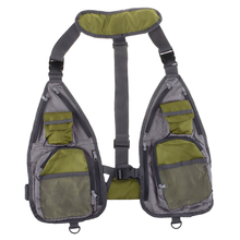 Muti-functional Fly Fishing Vest Adjustable Quick-Drying Mesh Chest Bag
