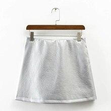 6dd933456 Compra silver leather skirt y disfruta del envío gratuito en ...
