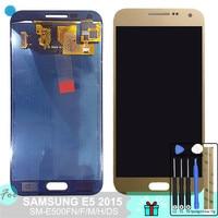 SM E500FN/F/M/H/DS For Samsung Galaxy E5 2015 E500 LCD Display + Touch Screen E500H E500FN E500F E500M Screen Adjust Brightness