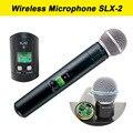 2017 SLX-2 beta58 transmissor de Mão sem fio UHF Microfone Sem Fio Beta 58A Handheld Mic para karaoke/KTV/DJ SLX2, slx