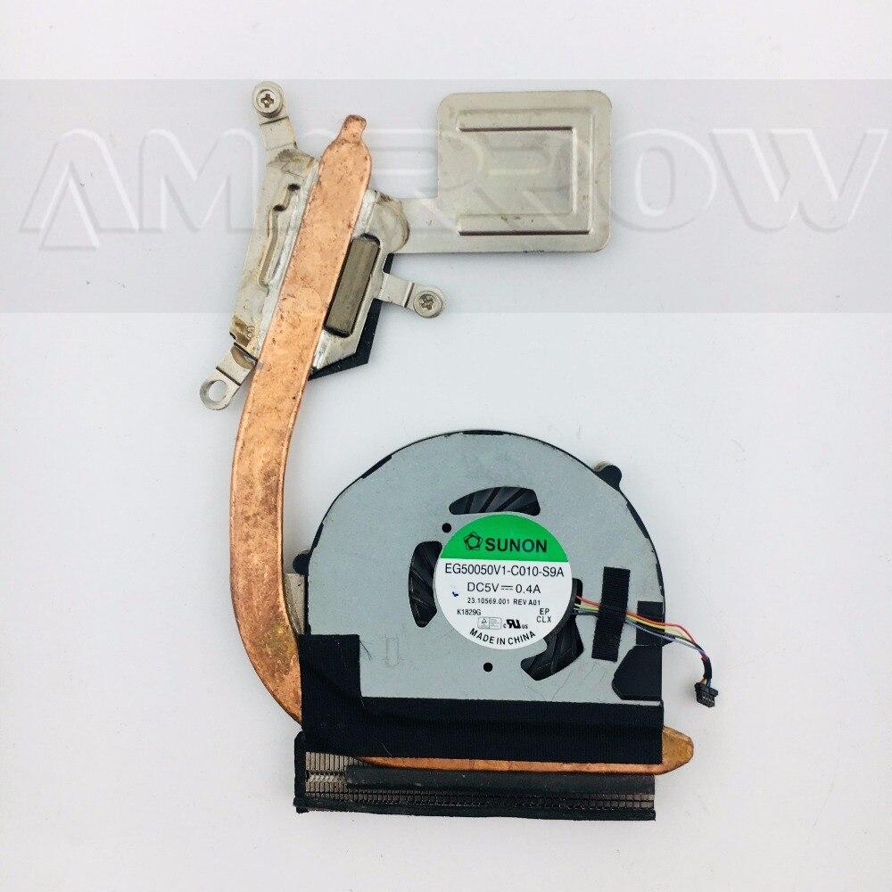 Original Laptop CPU Heatsink Cooling Fan For ACER S3 S3-391 60.4QP02.001