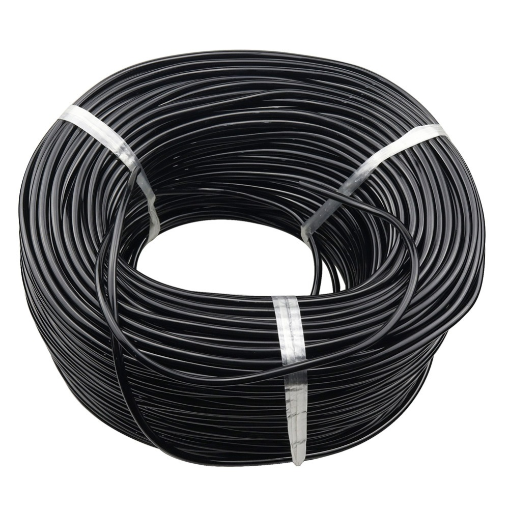 Dropper hose Watering Hose 3/5 mm Garden Drip Pipe PVC Hose Irrigation System Watering Systems for Greenhouses Black capillary