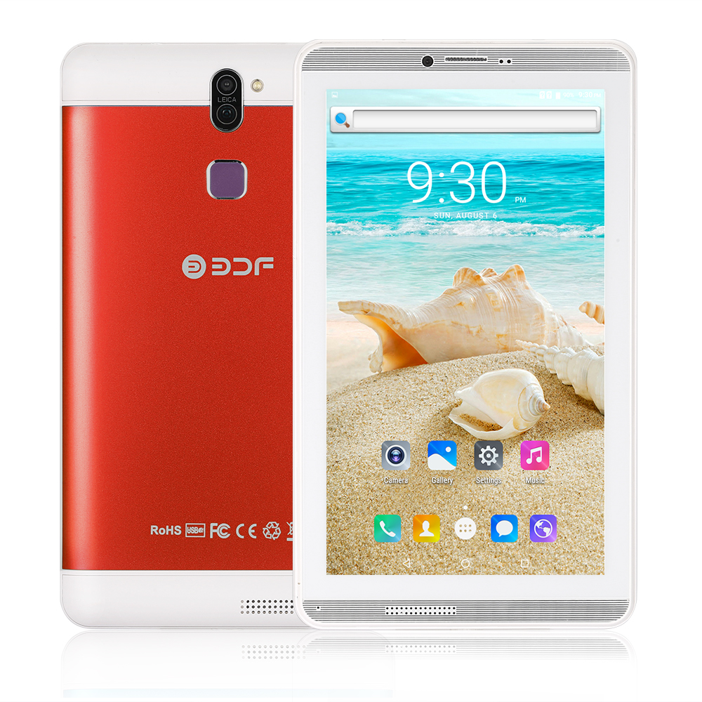 BDF 7 Inch  6.0 Android Phone Tablet 1GB RAM 16GB ROM  1024*600 Quad Core Built-in 3G External 3G LCD Tablet Pc