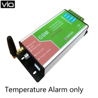 WF TP02B Free Shipping GSM SMS Remote Controller GSM Temperature Alarm Monitoring Only Data Logger (No Humidity Function)