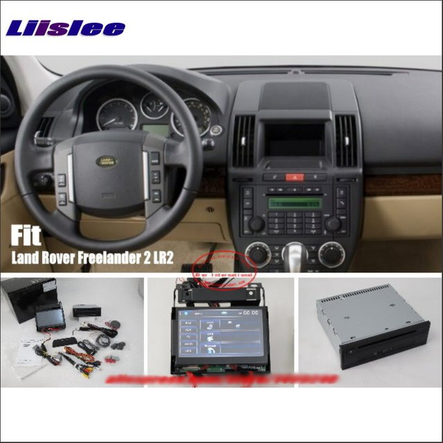 US $610 9 18% OFF|Liislee For Land For Rover Freelander 2 LR2 Car Stereo  DVD Player GPS Navigation System HD Touch Screen Bluetooth iPod AUX USB-in
