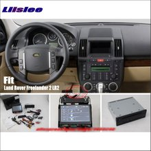 Liislee For Land For Rover Freelander 2 LR2 Car Stereo DVD Player GPS Navigation System HD Touch Screen Bluetooth iPod AUX USB