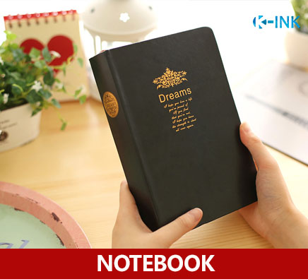 цена 21.3cmX14.2cm Black Leather Cover Blank Notebook , Vintage Dream Business Diary Book for Daily Memo