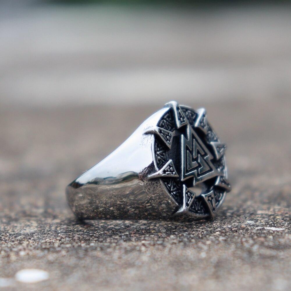 Norse Valknut Ring