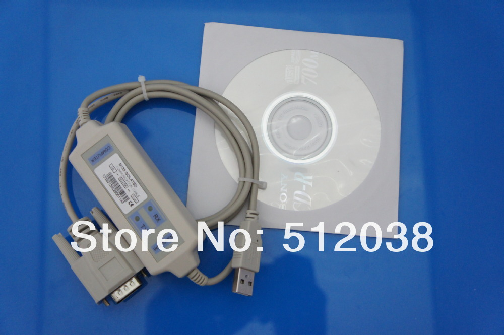 communication cable (USB) and software for M8811 Programmable DC Power Supply /dc source meter 0.1mV/0.01mA 5A/30V/150W rs232 cd software and usb cable