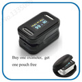 OLED Finger Blood Fulse Rate Monitor Fingertip Pulse Oximeter display pulsioximetro SPO2 PR oximetro de dedo with carrying case