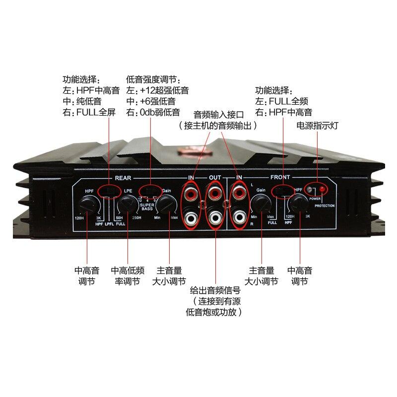 car amplifer power supply