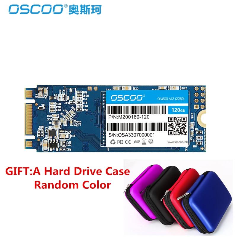 OSCOO NGFF M.2 SSD SATA3 60 GB 120 GB MLC SSD M2 240 GB 480 GB Lecteur à État Solide Dur Disque SATAIII 6 GB/S Pour PC Portable Ultrabook