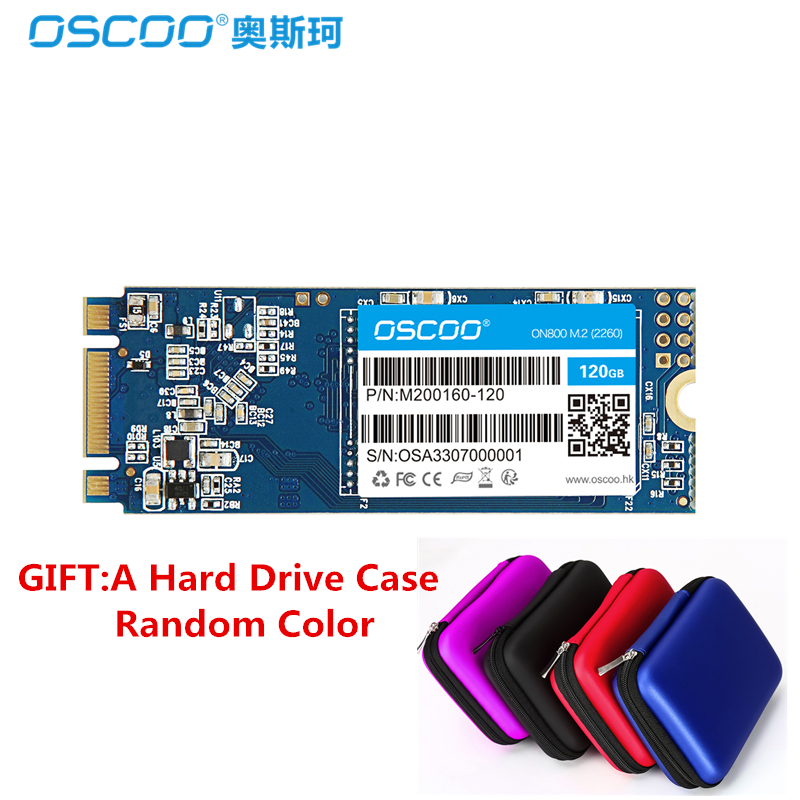 OSCOO NGFF M.2 SSD SATA3 60GB 120GB MLC SSD M2 240 GB 480GB Solid State Drive Hard Disk SATAIII 6GB/S For PC Notebook Ultrabook