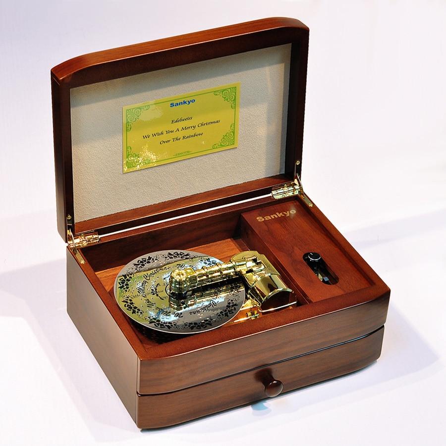 Wedding Music Box Gift: Aliexpress.com : Buy New 22 Tones Walnut Original Wooden