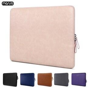 Image 1 - MOSISO スーパーシャイニング Pu ラップトップスリーブバッグブリーフケース Macbook Pro の空気網膜 13 13.3 インチ防水女性のノートブックハンドバッグ