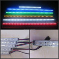 100pcs 50cm SMD 5050 Waterproof RGB LED rigid strip 12V Bar Light 0.5m with U Aluminium  IP68