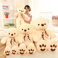 120CM GIANT HUGE BIG Light YELLOW TEDDY BEAR PLUSH SOFT TOYS DOLL GIFT Stuffed Animal