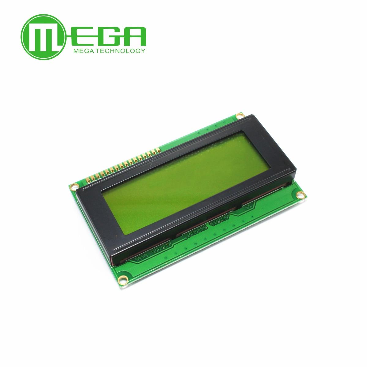 10pcs, LCD Board 2004 20*4 LCD 20X4 5V Yellow And Green Screen LCD2004 Display LCD Module LCD 2004 In Stock