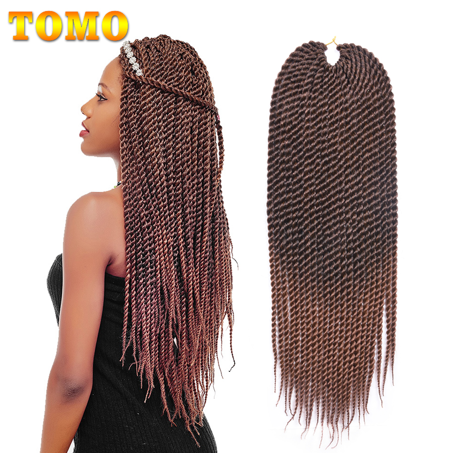 Closeout Tomo 22rootspack Kanekalon Senegal Twist Crotchet Braids