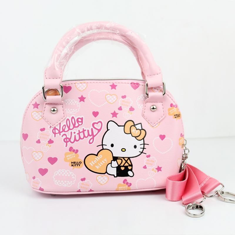 2016 NEW Brand Children baby girls cute hello kitty handbag Kids Cartoon  Handbag Dsigns shoulder bags children Pink handbag-in Top-Handle Bags from  Luggage ... ca7385ba79d39