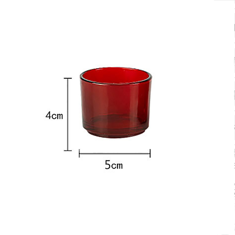 Candles Glasses Table Lamps Simple Creative Restaurants Christmas Dinner Romantic Props Birthday Presents Glass Candle Holder