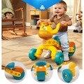 Poco tike plástico Jirafa niños triciclo andador, de alta calidad de bebé de la vespa, niños triciclo