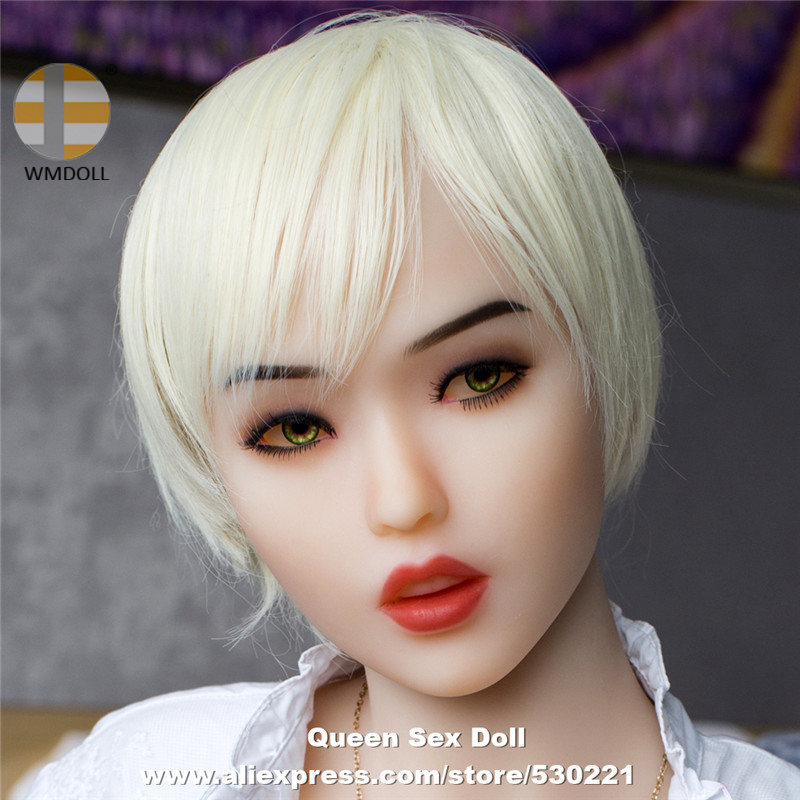 NEW WMDOLL Top Quality Japanese Silicone Doll Heads With Oral Sex Love Doll Head For TPE Mannequin Realistic ToysNEW WMDOLL Top Quality Japanese Silicone Doll Heads With Oral Sex Love Doll Head For TPE Mannequin Realistic Toys