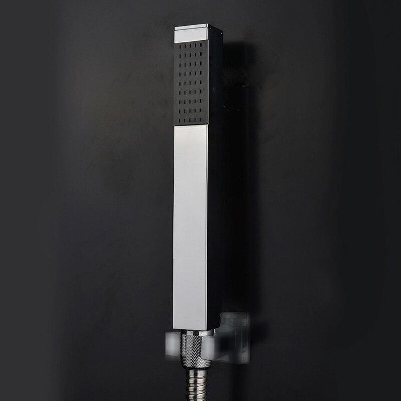 Ручной душ ручной Насадки для душа Банные принадлежности Продукты Твердый латунный Chrome Готовые, ручной душ