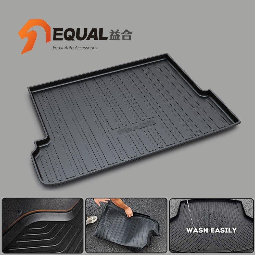 Rubber floor mats toyota camry - Fit For Toyota Camry Highlander Crown Reiz Corolla Vios Levin Rav4 Prado Boot Liner Rear Trunk Cargo Mat Floor Tray Carpet